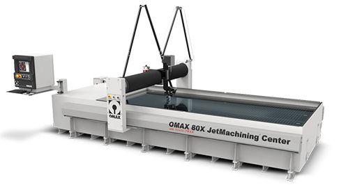 nowoczesny Waterjet OMAX 80X